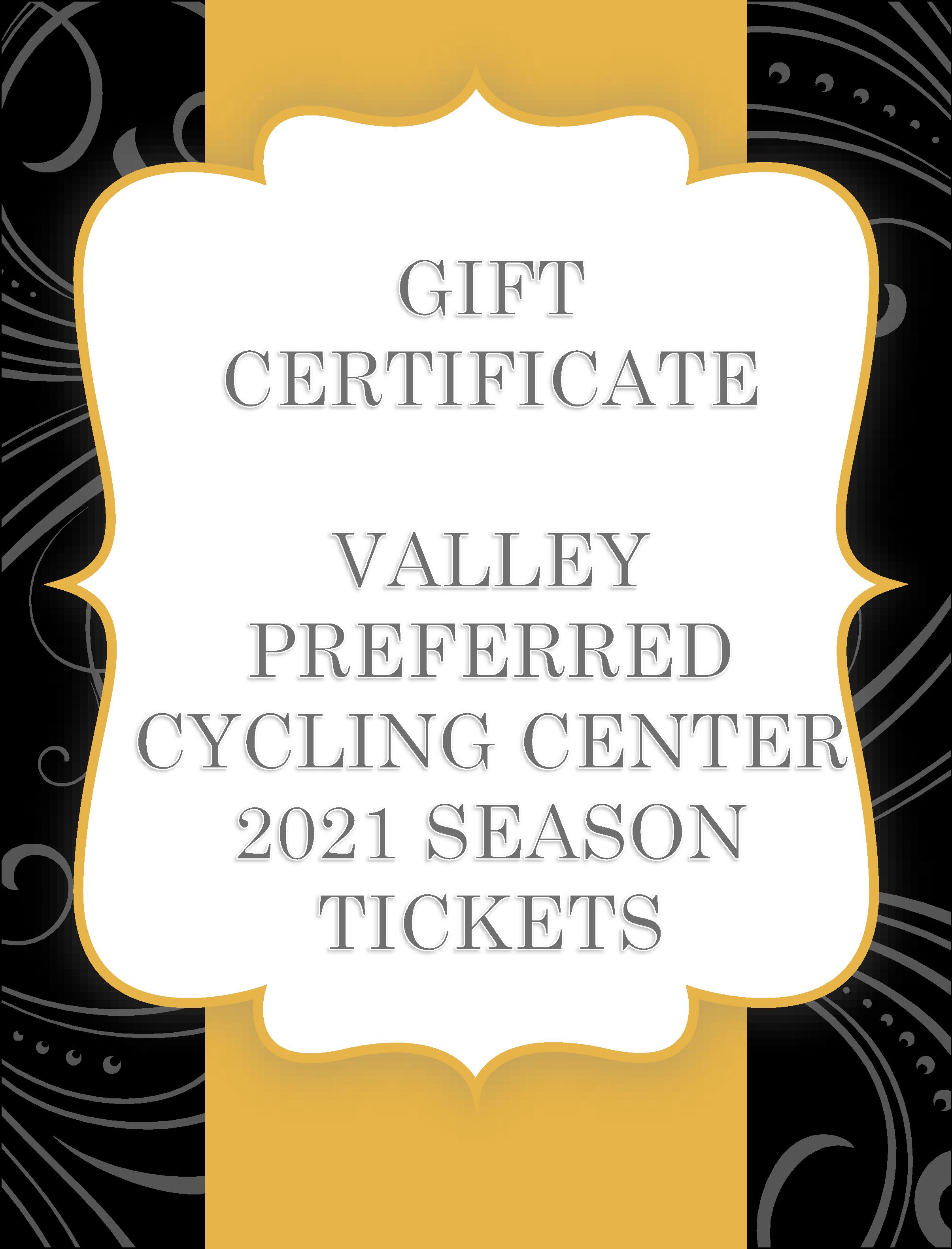 Velo Gift Certificates 1